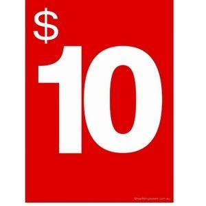 $10.00 ITEMS